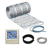 N-Heat® Elektrische Fußbodenheizung Komplett Set Millitmat/150 300W 2,0 m²