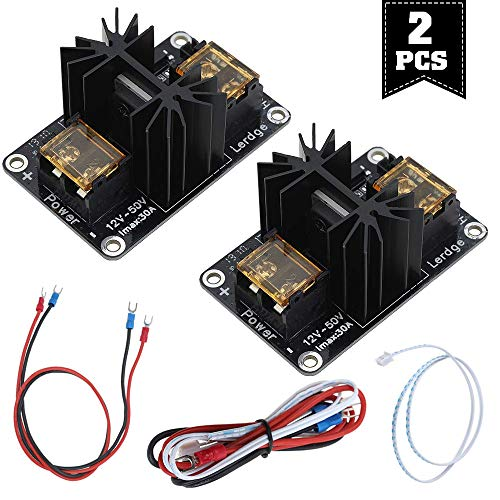 Zacro Módulo de impresora MOS 3D, 2 unidades, módulo de alimentación para el funcionamiento seguro de extrusores Anet A8/A6/A2, Makerbot mk8, RepRap, Mendel, Prusa i3, impresora 3D E3D V6
