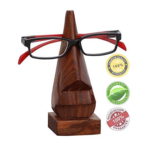 SouvNear Witty Holz Nase Brillenhalter Spectacle Ausstellungsstand / Schauspiel Halter - Desktop Zubehor
