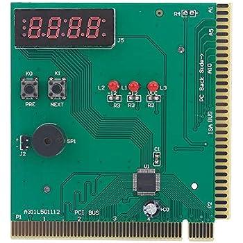 SODIAL Motherboard USB & PCI Diagnose-Karte: Amazon.de