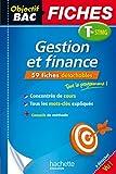 Objectif Bac Fiches Détachables Gestion Et Finance Term Stmg