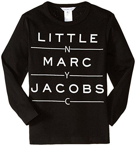 Little Marc Jacobs - T-Shirt Manches Longues Noir - 12 Jahre, Schwarz