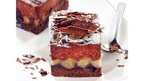 6 gâteaux aux poires et au chocolat - 500 g - Surgelé