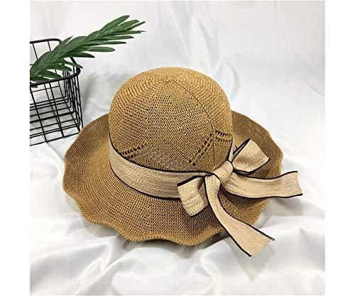 c74048d976ec ZHWSXXZ Ladies Sun Protection Sun Hat Summer Sun Straw Hat Straw Ciclismo  all'aperto Sun