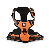#9: Petsup Front Range 3M Reflective Dog Vest Harness (Large, Orange)