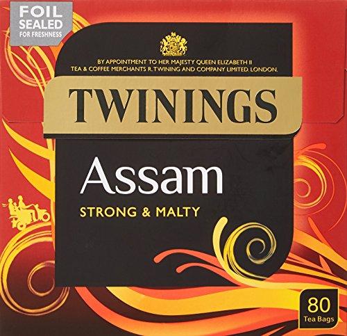 Twinings Assam Tea Bags, 200 g, 80 bags