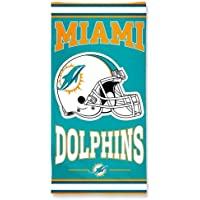 NFL Licensed Beach Towel Miami Dolphins
