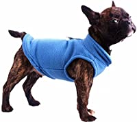 Dog Fleece Harness Vest Jumper Sweater Coat for Small Breed Dogs, Various Colours and Sizes by Cara Mia Dogwear