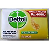 Dettol Anti-Bacterial Bar Soap, Re-Energize Fresh, 110 Gr / 3.88 Oz (Pack of 12)