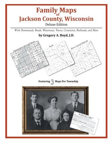 Family Maps of Jackson County, Wisconsin