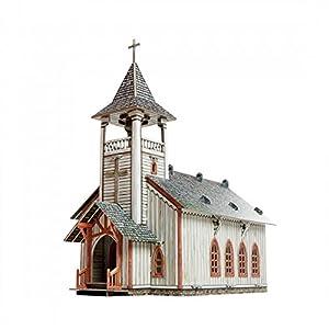 Clever Paper- Iglesia Puzle 3D, Color Variado (91)