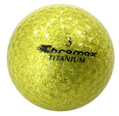 golf-chromax-m2-de-balle-de-golf-or-glitery-new