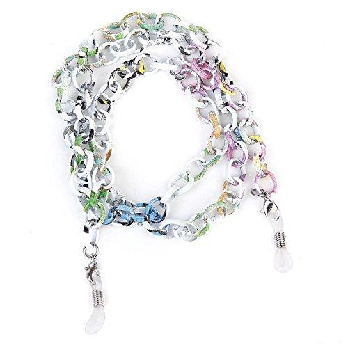 Cordino catena alluminio per occhiali 70 colorato