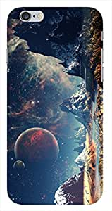0-Degree Apple iPhone 5S Space is new home Hard Back Cover Unique Designs ( Space Design39ip5S )