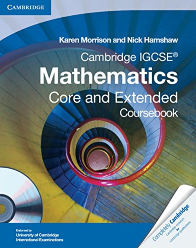 Cambridge IGCSE core mathematics. Con espansione online. Per le Scuole superiori. Con CD-ROM (Cambridge International IGCSE)