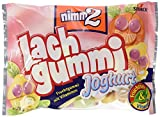nimm2 Lachgummi Joghurt – Spaßiges Fruchtgummi mit Vitaminen – 15er Pack (15 x 250g)