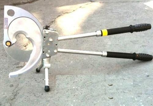 Gowe Coupe Câble à cliquet racheting Coupe fil Coupe Câble blindé Max 120 mm pour câble blindé CU/Alu