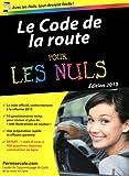 Code de la route 2013 Poche Pour les Nuls - First - 17/01/2013