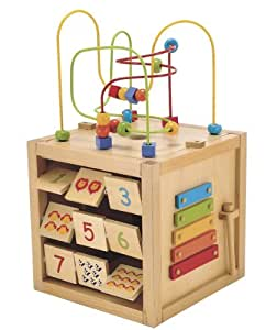 Buy ELC Wodden Activity Cube Online at Low Prices in India ...
