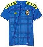 adidas Herren FFU Away Jersey Das Auswärtstrikot der ukrainischen Nationalmannschaft, Blau/Gelb, M, AC5576