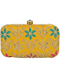 Tooba Women'S Color Base Box Clutch