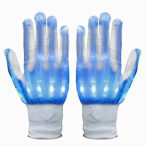 Party Light Show Handschuhe Zeigen Handschuhe für Clubbing, Rave, Birthday, EDM, Disco, Weihnachten, Halloween und Dubstep Party ()