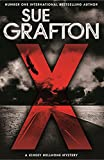 X by Sue Grafton front cover