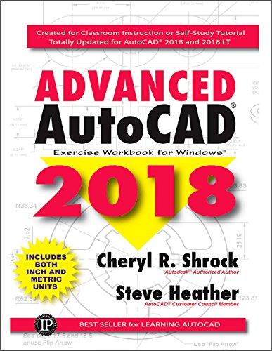 Advanced AutoCAD Exercise Workbook 2018