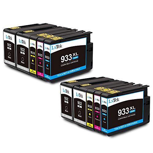 atz für HP 932 933 932XL 933XL Druckerpatronen für HP Officejet 6100 6600 6700 7110 7610 7612 (4 Schwarz, 2 Cyan, 2 Magenta, 2 Gelb) ()