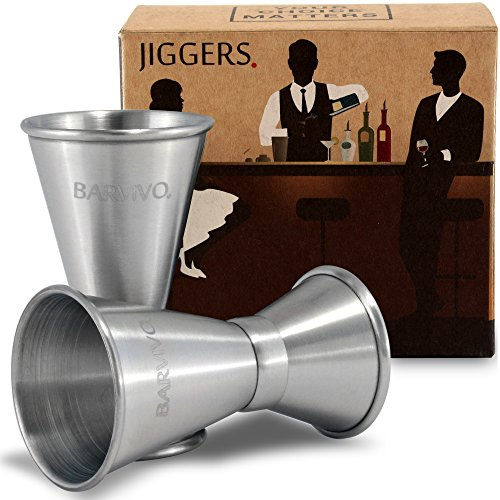 Double Jigger Set Barvivo - Mesurez les boissons avec