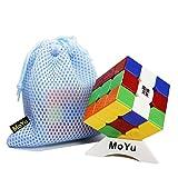 OJIN MoYu AoLong V2 Aolong Amélioré 3x3x3 Vitesse Cube Puzzle Casse-Tête Twist Puzzle Jouets avec Un Cube Sac et Un Cube Trépied (Stickerless)