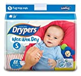 #4: Drypers Wee Wee Dry Small Size Diapers 88 Counts