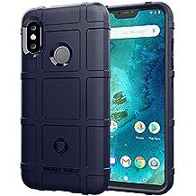 Aksuo Funda for Xiaomi Mi A2 Lite , TPU Silicona Gel Carcasa Anti-Rasguño y