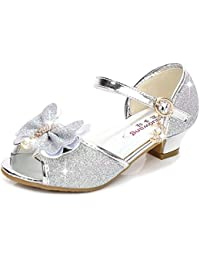 7e2431c17b94 Amazon.fr   Argenté - Ballerines   Chaussures fille   Chaussures et Sacs