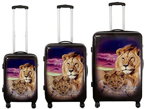 PMro-Trading Euro-Trading Corsica Suitcase. Size - Large. Color- Multicolour Valise. 74 cm. 97 liters. Multicolore (Multicolour)