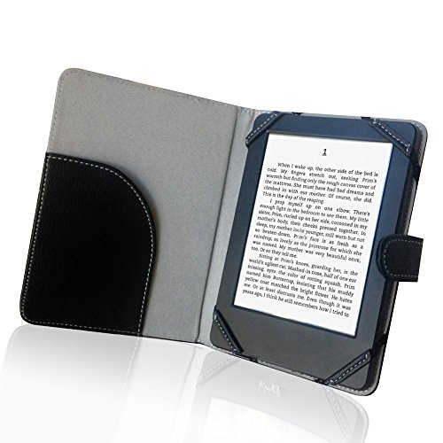 Buch Nook Cover (Book Style Litch PU Leder Tasche für 15,2 cm eBook Reader Case Cover für Sony/Kobo/Pocketbook/Nook/Tolino 15,2 cm eBook Reader)