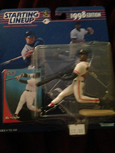 1998 Edition - Kenner - Starting Lineup - MLB - Mo Vaughn #42 - Boston Red Sox - Vintage Action Figure - w/ Trading Card - Limited Edition - Collectible by Starting Line Up (Boston Red Sox-vintage)