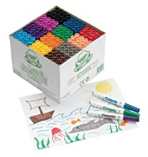 CRAYOLA - 10279.0030 - Education - Classpack De 144 Feutres Mini Kids