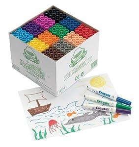 Crayola - Education - Rotuladores de Colores Lavables (Vivid Imaginations 10279)