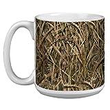Tree-Free Greetings Baumfreie Grüße xm28981Künstlerische Jumbo Tasse, Schatten Gras Klingen Mossy Oak Camo, 591ml