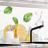 StickerProfis Küchenrückwand selbstklebend Premium Fruit Splash 1.5mm, Versteift, alle Untergründe, Hartschicht, 60 x 220cm