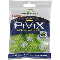 SOFTSPIKES PiViX Tacos de Golf, PVFZCL-TG-EU, Verde, Clamshell of 1 Set
