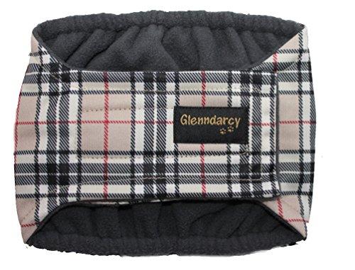 """Glenndarcy Dog Pants Culotte d'incontinence pour chien mâle Taille M 40,5-46 cm (16-18"""") Camel"""