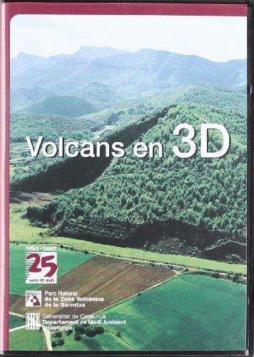 Volcans en 3D (Generalitat de catalunya) por Vv.Aa