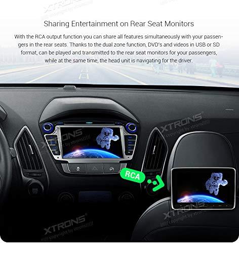 XTRONS-7-Android-Autoradio-mit-Touchscreen-Android-90-Quad-Core-DVD-Player-Full-RCA-Ausgang-WiFi-4G-Bluetooth50-2GB-RAM-16GB-ROM-DAB-OBD2-Lenkradsteuerung-TPMS-FR-Hyundai-IX35Tucson