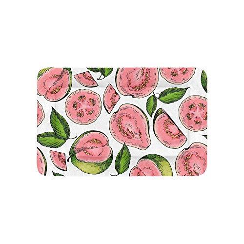 Yushg Tropische Frucht Guave Extra Große Individuell Bedruckte Bettwäsche Weiche Hundebetten Couch Für Welpen Und Katzen Möbel Matte Cave Pad Kissenbezug Innen 36x23 Zoll -