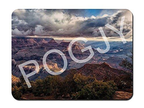 Preisvergleich Produktbild POGJY Gaming Mauspad 7 x 8 Inches,  Mousepad,  Verbessert Präzision und Geschwindigkeit,  Gummiunterseite für Stabilen Halt auf Glatten Oberflächen,  Rutschfest,  Strapazierfähig Schwarz - Grand Canyon image 141