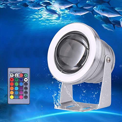 (Unterwasser Licht, RGB LED Unterwasserlicht , Ferngesteuert Batteriebetrieben Wireless Multicolor Teich LED Leuchten für Holloween, Party, Hochzeit, Vase, Aquarium Dekoration)