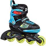 Stuf Xoom 2 patines en línea Junior (ajustable) blau - schwarz - gelb Talla:31-34