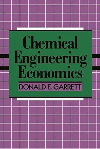 Chemical Engineering Economics